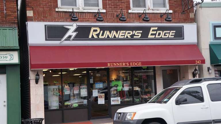 Runner's Edge is at 242 Main St. in