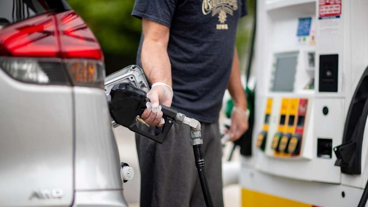 Gasoline prices on Long Island are on the