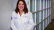 Dr. Kristina Deligiannidis, associate professor at the Feinstein