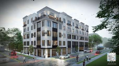G2D, a Huntington-based developer, has proposed creating a