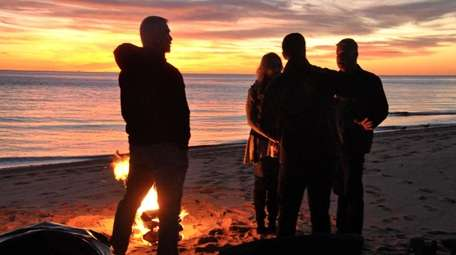 Beach campfire permits at National Seashore Beaches are