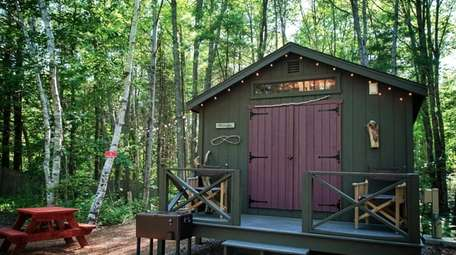 The Sandy Pines Campground in Kennebunkport, ME offers