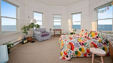 One of the bedrooms with water views.