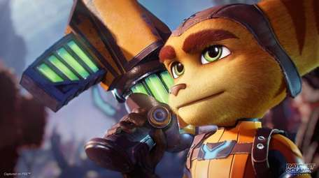 The graphics in Ratchet & Clank have benefited