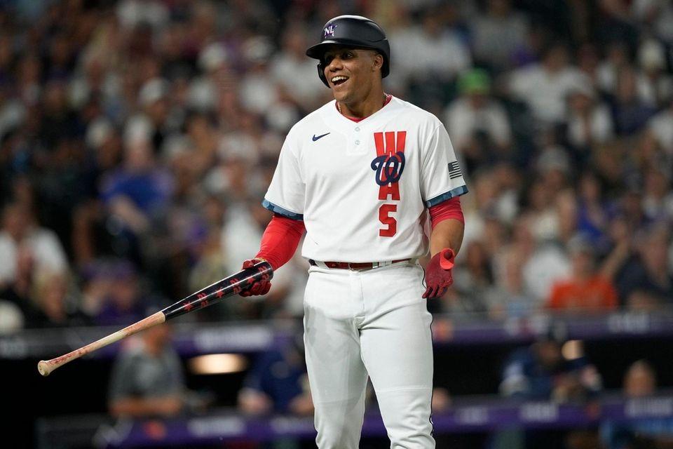 National League's Juan Soto, of the Washington Nationals,