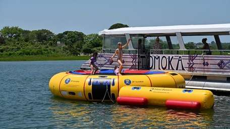 This weekend, you can play on a water