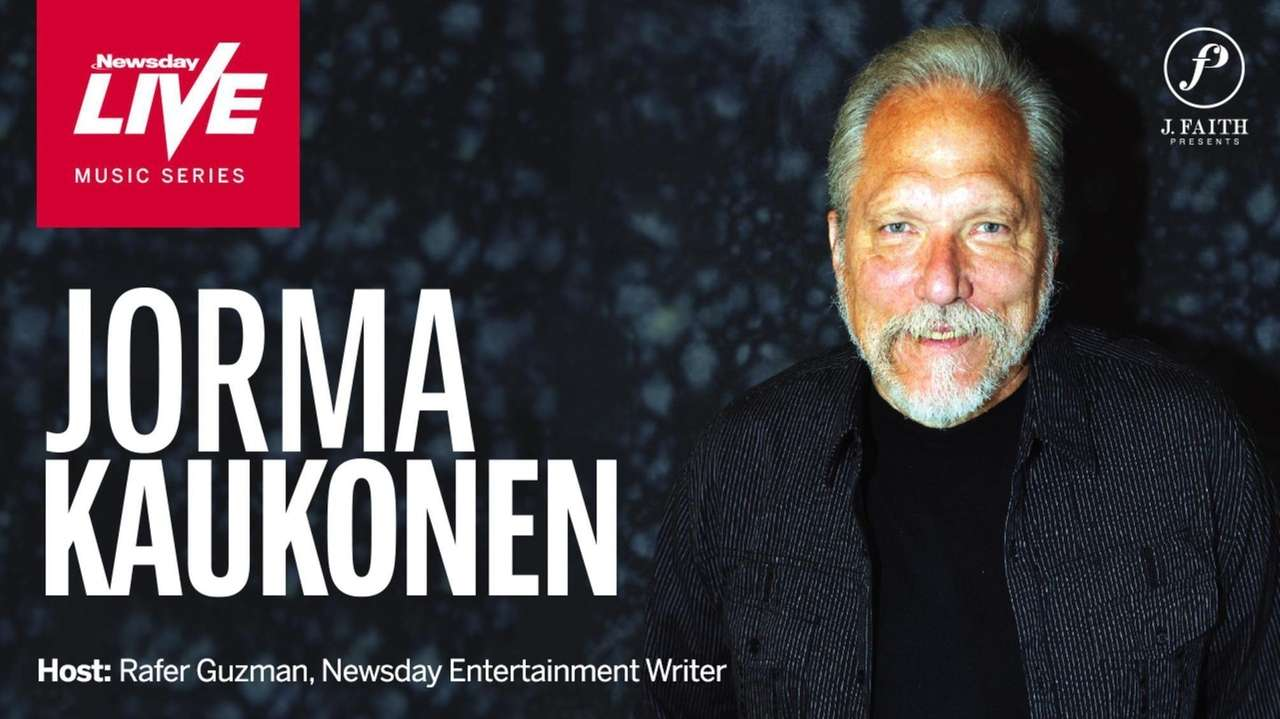 Join Grammy winner Jorma Kaukonen, a founding member