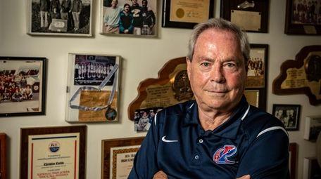 Former Mepham High School track coach Paul Limmer.