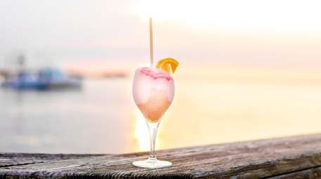 The frose at Le Dock in Fair Harbor.