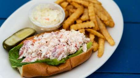 The New England lobster roll at Varney's in