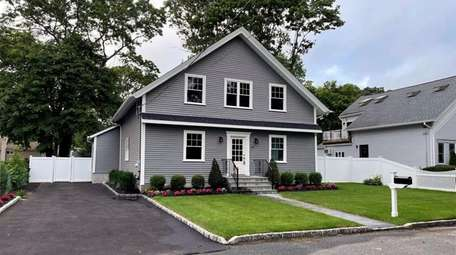 This renovated 4-bedroom, 2½-bath Colonial in East Islip