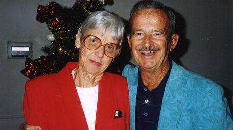 Barbara and Leonard Romagna in January 1996.