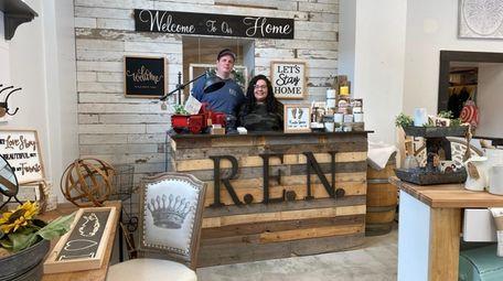 Jason and Samantha Nagorski, owners of R.E.N. Design