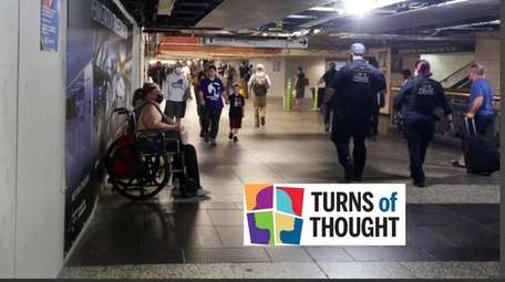 The pandemic exacerbated homelessness at Penn Station because