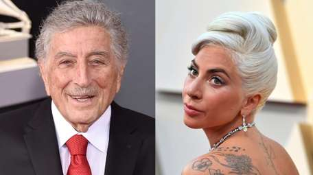 Tony Bennett and Lady Gaga will play two