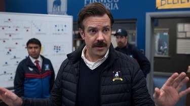 """Jason Sudeikis appears in """"Ted Lasso"""" on Apple"""