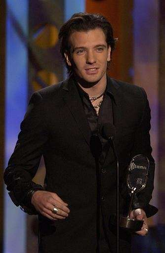 Boy bander JC Chasez joined fellow 'NSYNC member