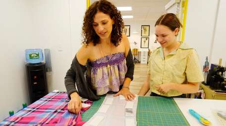 Stacey Saltzman, founder of My Style Camp, teaches