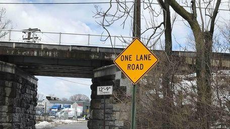 The Denton Avenue Bridge on the LIRR in