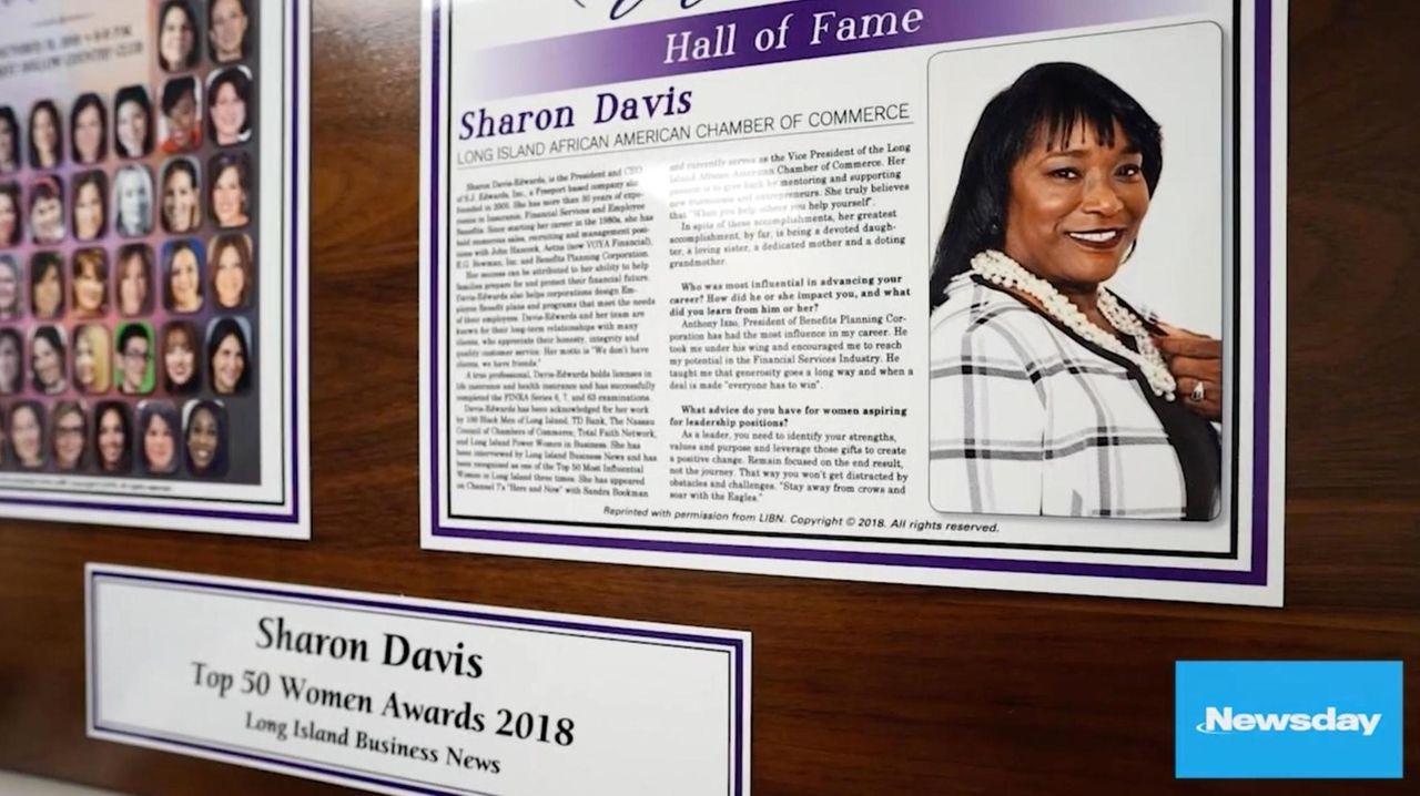 Sharon Davis, 67, of Merrick started a successful