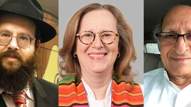 From left, Rabbi Mendy Goldberg of Lubavitch of