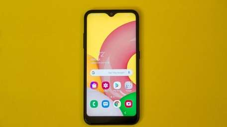 The Samsung Galaxy A01's battery lasts for up
