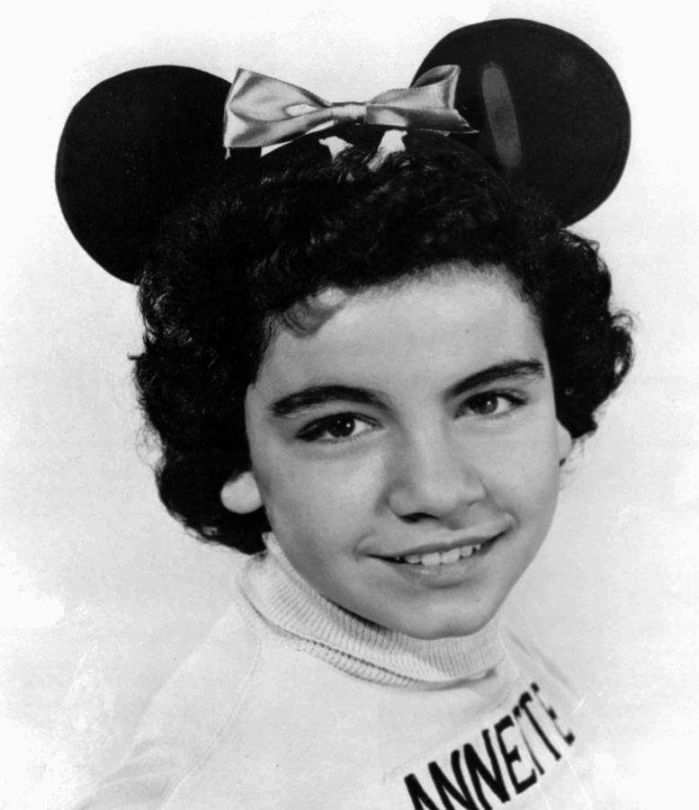 Annette Funicello, the best-known Mouseketeer from the original