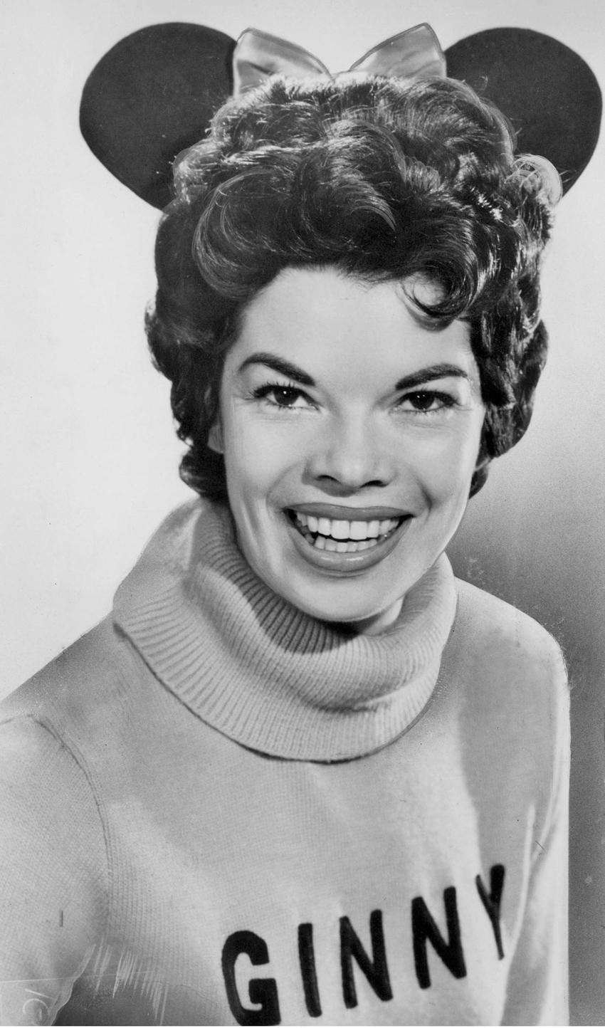 Ginny Tyler, a head Mouseketeer in the 1950s