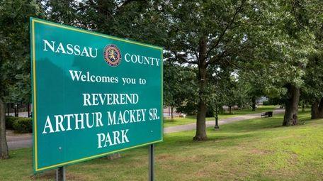 Rev. Arthur Mackey Sr. Park. in Roosevelt. Roosevelt.