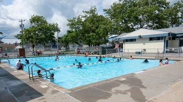 The Roosevelt Avenue Pool.