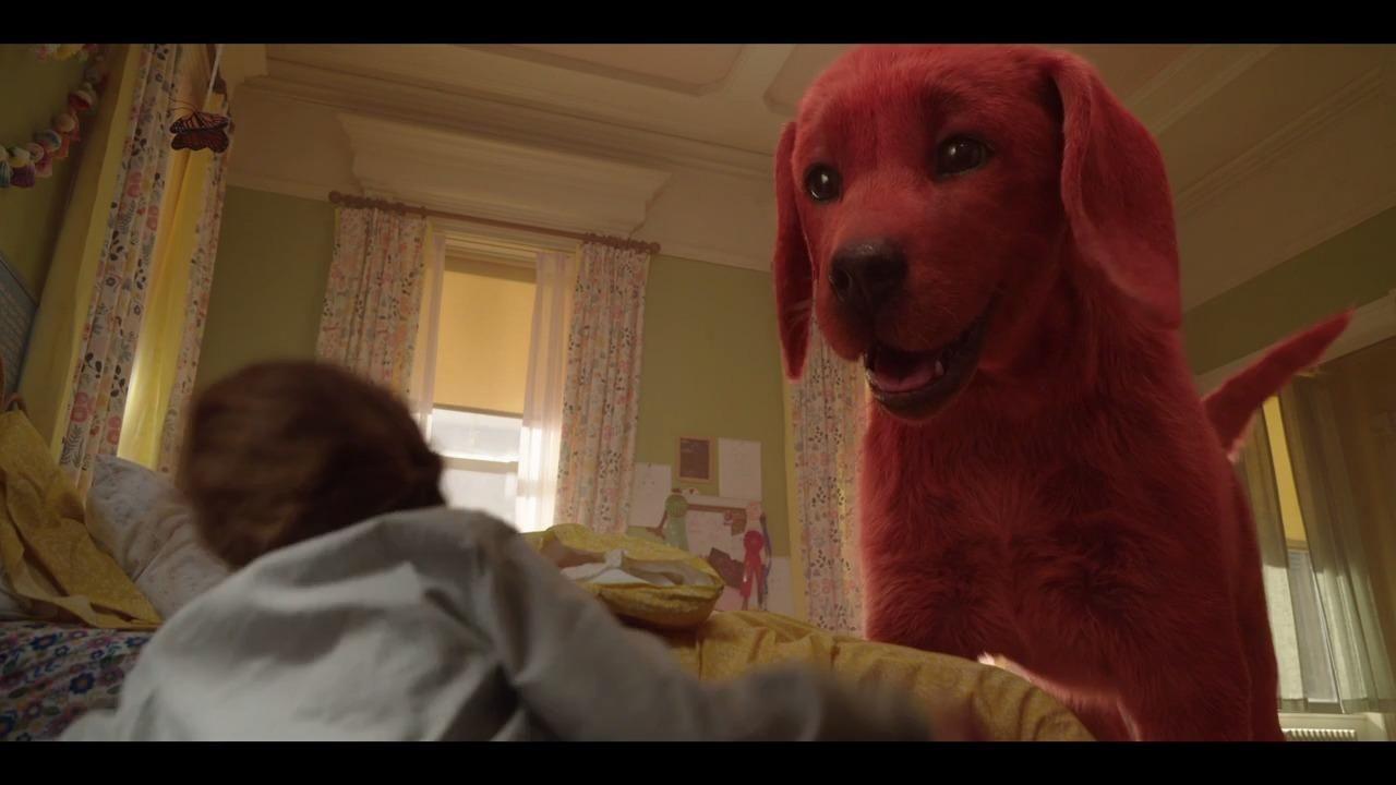 Emily Elizabeth (Darby Camp) getsa little, red puppy