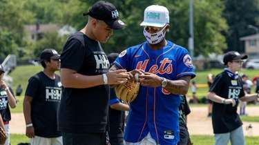 Mets pitcher and Long Island native Marcus Stroman