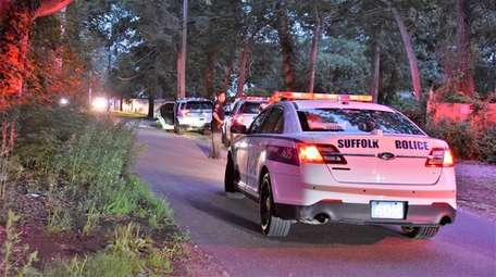 Suffolk police investigating a fatal stabbing on Woodland