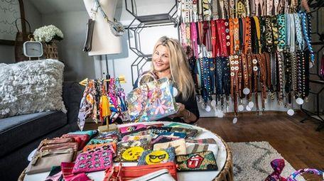 Joey Bowen pursued her passion of handbag design