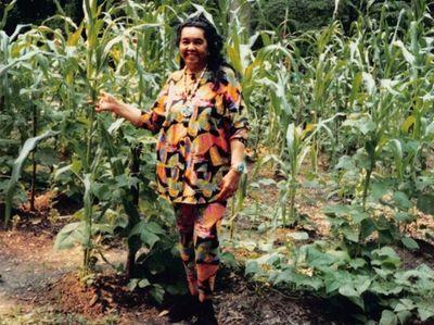 "Jeremy Dennis' grandmother Loretta Hunter-Silva, affectionately called ""Ma"""