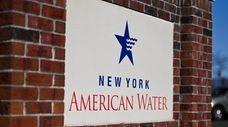 The New York American Water building in Merrick.