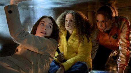 . Pictured: Lena Headey as Scarlet, Chloe Coleman