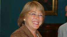UN Racism and Human Rights envoy Michelle Bachelet,
