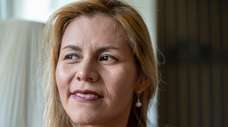 Peruvian immigrant Nataly Castillo of Huntington said she