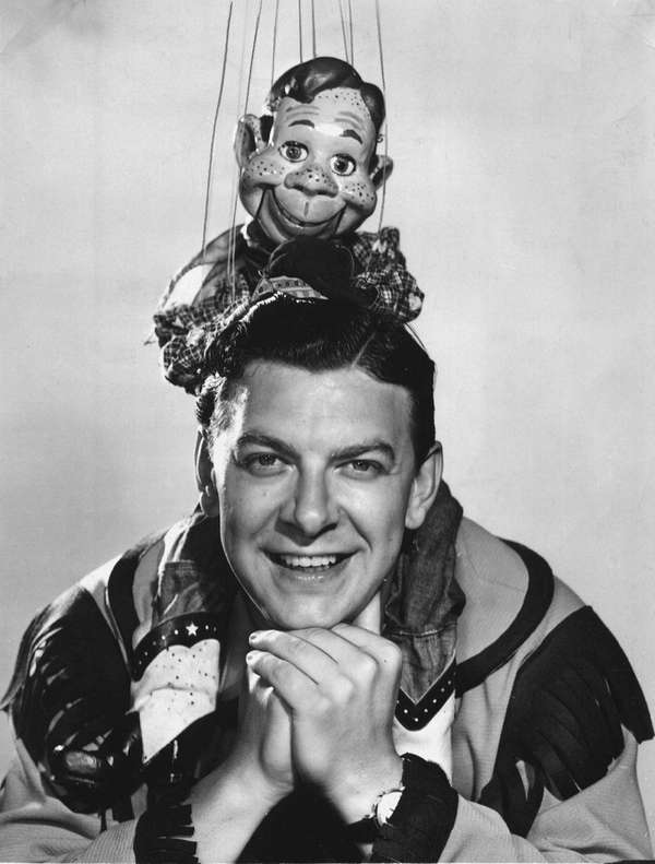 Bob Smith and Howdy Doody from the TV