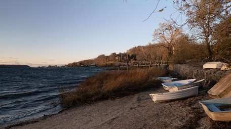 Cold Spring Harbor was one of eight sites