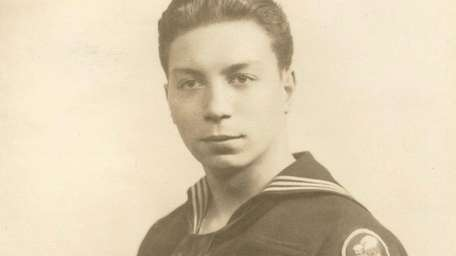 William Gomez served in a Navy Seabees construction