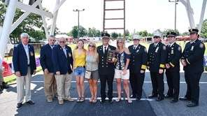 At a ceremony in East Patchogue on Saturday,