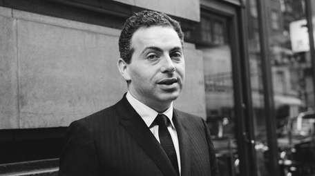 Jackie Mason during a visit to London on