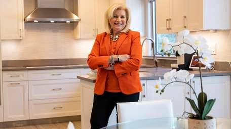 Real estate agent Joyce Styne at an East