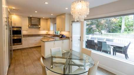 The kitchen of a 5-bedroom, 2½-bath Colonial in