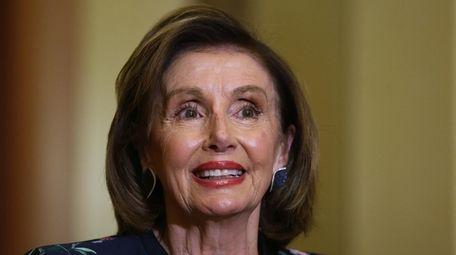 House Speaker Nancy Pelosi (D-Calif.) speaks during a