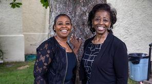 The Rev. Gloria Mixon and her daughter Dawn
