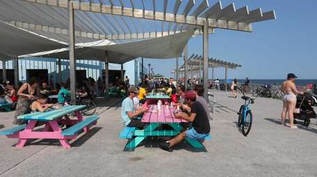 Rockaway Beach in Queens has much to lure
