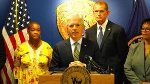 On Monday, Suffolk County Executive Steve Bellone saidthe